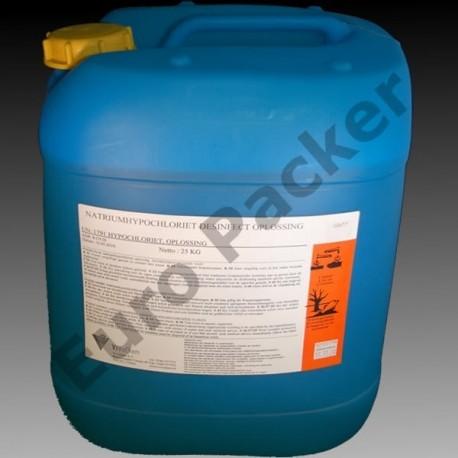Chloor - Natriumhypochloriet (NaOCl) 25 kg