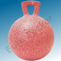 Bal 25cm in allerlei kleuren en geuren met hengsel