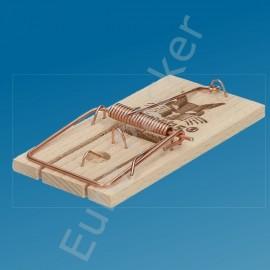 Muizen klem van hout